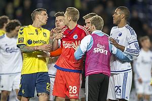 Daniel Agger (Br�ndby IF), Robin Olsen (FC K�benhavn), Mathias Zanka J�rgensen (FC K�benhavn)