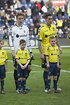 Frederik R�nnow (Br�ndby IF), Daniel Agger (Br�ndby IF)