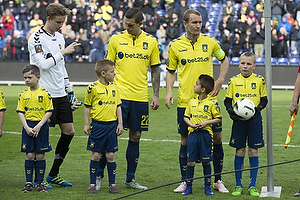 Frederik R�nnow (Br�ndby IF), Daniel Agger (Br�ndby IF), Thomas Kahlenberg (Br�ndby IF)