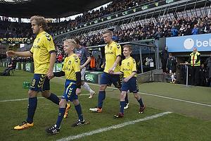 Teemu Pukki (Br�ndby IF), Martin Albrechtsen (Br�ndby IF)