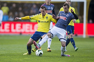 Kamil Wilczek (Br�ndby IF), Aleksandar Čavrić (Agf)