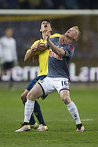 Christian N�rgaard (Br�ndby IF), Jens J�nsson (Agf)