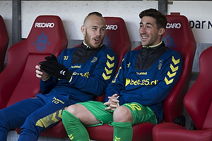 Frederik Holst (Br�ndby IF), Magnus Eriksson (Br�ndby IF)