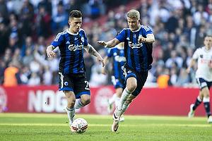 Benjamin Verbic (FC K�benhavn), Andreas Cornelius (FC K�benhavn)