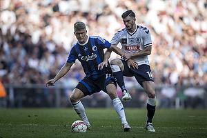 Andreas Cornelius (FC K�benhavn), Josip Elez (Agf)