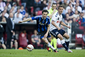 Kim Aabech (Agf), William Kvist (FC K�benhavn)
