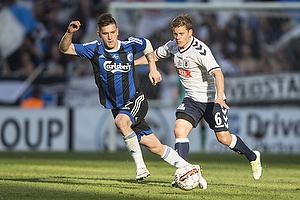 Daniel Christensen (Agf), Benjamin Verbic (FC K�benhavn)