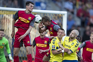 Kamil Wilczek (Br�ndby IF), Johan Larsson (Br�ndby IF)