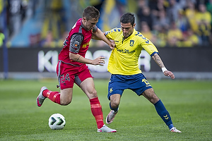 David Boysen (Br�ndby IF), Christian K�hler (FC Nordsj�lland)