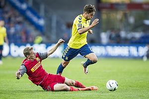 Andreas Skovgaard (FC Nordsj�lland), Andrew Hjulsager (Br�ndby IF)