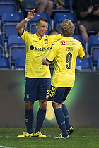 Kamil Wilczek, m�lscorer (Br�ndby IF), Teemu Pukki (Br�ndby IF)