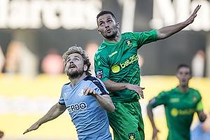 Riza Durmisi (Br�ndby IF), Kasper Fisker (Randers FC)
