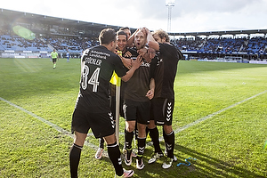 Johan Larsson, m�lscorer (Br�ndby IF), Daniel St�ckler (Br�ndby IF)