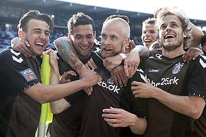 Daniel St�ckler (Br�ndby IF), Johan Larsson, m�lscorer (Br�ndby IF), Teemu Pukki (Br�ndby IF), David Boysen (Br�ndby IF)