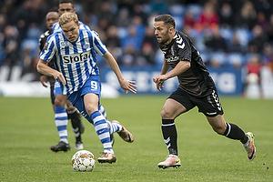 Riza Durmisi (Br�ndby IF), Mick van Buren (Esbjerg fB)