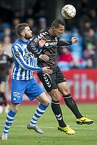 Kamil Wilczek (Br�ndby IF), Daniel Stenderup (Esbjerg fB)
