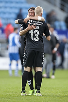 Johan Larsson (Br�ndby IF), Frederik Holst (Br�ndby IF)