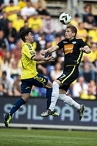 Svenn Crone (Br�ndby IF), Mathias Wichmann (Viborg FF)