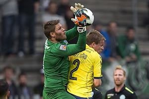 Jesper Lindorff Juelsg�rd (Br�ndby IF), Peter Friis Jensen (Viborg FF)