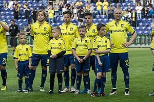 Teemu Pukki (Br�ndby IF), Andrew Hjulsager (Br�ndby IF), Patrick Da Silva (Br�ndby IF), Johan Larsson (Br�ndby IF)
