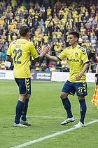 Daniel Agger (Br�ndby IF), Svenn Crone (Br�ndby IF)