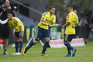 Johan Elmander (Br�ndby IF), Patrick Da Silva (Br�ndby IF)