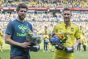 Martin Albrechtsen (Br�ndby IF), Martin �rnskov (Br�ndby IF)