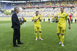 Daniel Agger, anf�rer (Br�ndby IF), Riza Durmisi (Br�ndby IF)