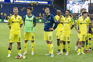 Martin Albrechtsen (Br�ndby IF), Christian N�rgaard (Br�ndby IF), Daniel Agger (Br�ndby IF), David Boysen (Br�ndby IF)