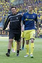 Daniel Agger (Br�ndby IF), Mark Strudal, angrebstr�ner (Br�ndby IF)