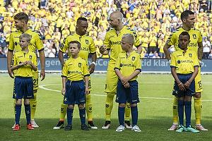Andrew Hjulsager (Br�ndby IF), Lebogang Phiri (Br�ndby IF), Johan Larsson (Br�ndby IF), David Boysen (Br�ndby IF)