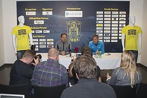 Pressemøde med Alexander Zorniger i Brøndby IF