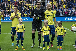 Frederik Holst (Br�ndby IF), Frederik R�nnow (Br�ndby IF), Johan Larsson, anf�rer (Br�ndby IF)