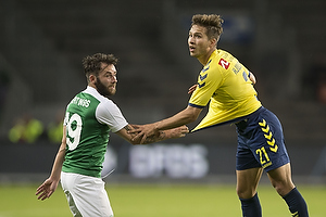 Andrew Hjulsager (Br�ndby IF), James Keatings (Hibernian FC)