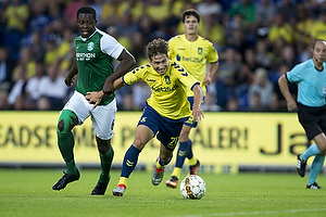 Andrew Hjulsager (Br�ndby IF), Marvin Bartley (Hibernian FC)