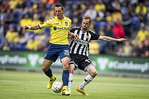 Kamil Wilczek (Br�ndby IF), Peter Nymann (AC Horsens)