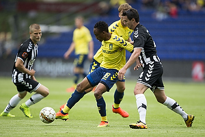 Lebogang Phiri (Br�ndby IF), Conor S. OBrien (AC Horsens)