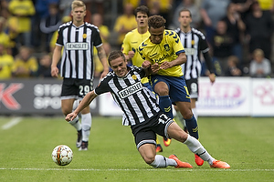 Hany Mukhtar (Br�ndby IF), Hallur Hansson (AC Horsens)