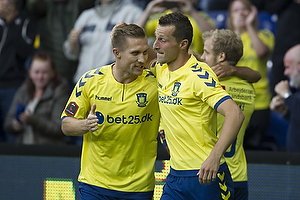 Martin Albrechtsen (Br�ndby IF), Kamil Wilczek (Br�ndby IF)