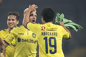 Johan Larsson (Br�ndby IF), Christian N�rgaard (Br�ndby IF)