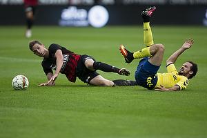 Marco Danilo Ure�a (Br�ndby IF), Jonas Borring (FC Midtjylland)