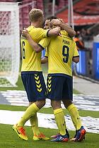 Teemu Pukki, m�lscorer (Br�ndby IF), Hj�rtur Hermannsson (Br�ndby IF)