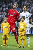 Robin Olsen (FC K�benhavn), Thomas Delaney, anf�rer (FC K�benhavn)