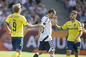 Teemu Pukki (Br�ndby IF), Andrew Hjulsager (Br�ndby IF)