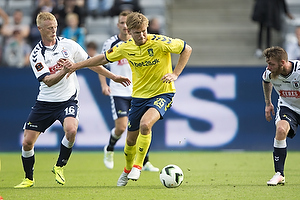 Christian Jakobsen (Br�ndby IF), Jens J�nsson (Agf)
