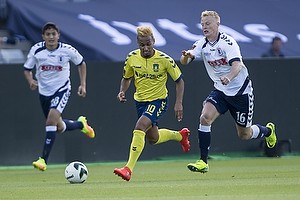 Hany Mukhtar (Br�ndby IF), Jens J�nsson (Agf)
