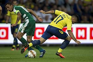 Rezan Corlu (Br�ndby IF), Carlos Zeca (Panathinaikos)