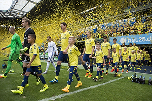 Frederik R�nnow (Br�ndby IF), Benedikt R�cker (Br�ndby IF), Hj�rtur Hermannsson (Br�ndby IF)