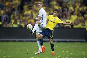 Svenn Crone (Br�ndby IF), Andreas Cornelius (FC K�benhavn)
