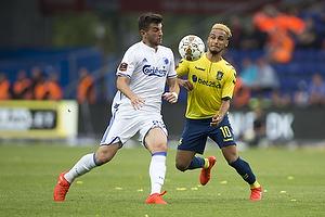 Hany Mukhtar (Br�ndby IF), Andrija Pavlovic (FC K�benhavn)